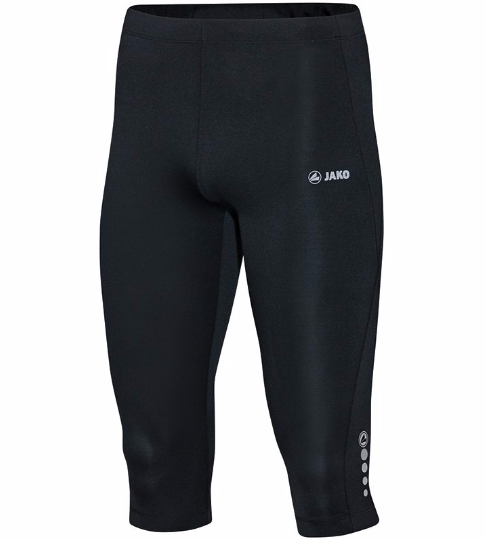 Jako 6715 Herren Capri Tight Run Laufhose Running Hose Jogging Fitness