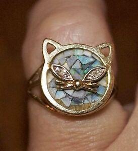 Unique Cat Ring