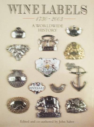 Book : Wine Labels 1730 - 2003 (antique,label,silver,plated)