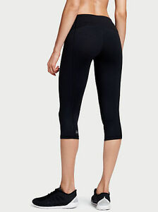 VSX Workout Crops (Black and Grey)
