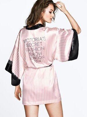 RARE Victorias Secret FASHION SHOW 2014 Wrap Robe Kimono BLING NWT HARD TO FIND