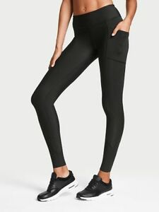 NEW VICTORIA'S SECRET TOTAL KNOCKOUT TIGHT BLACK SIZE SMALL
