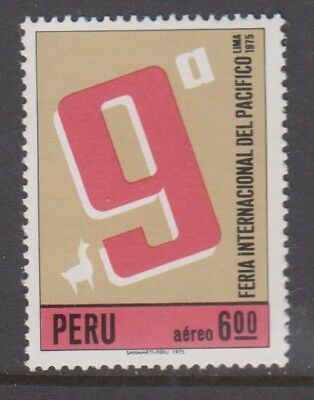 Peru 1975 Feria Internacional Del Pacific MNH