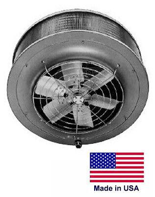Unit Heater - Steam Hot Water Commercial - 161000 Btu - 115v - Vertical Mount