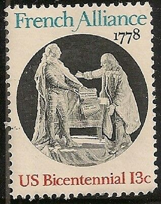 Us 1753 French Alliance 13C Single Mnh 1978