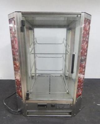 Roundup Pbd-300 Heated Display Cabinet Food Warmer Warming Oven Pretzel Hot