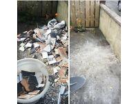 Power washing rubbish removal dump runs gardening county armagh