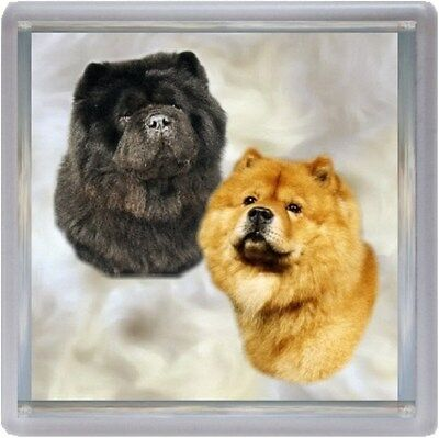 Chow Chow Coaster No 4 by Starprint