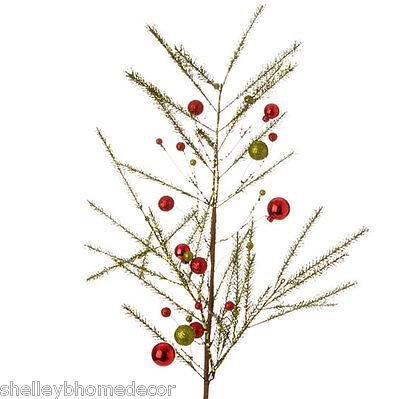 Christmas Spray Glittered Pine Ball 32
