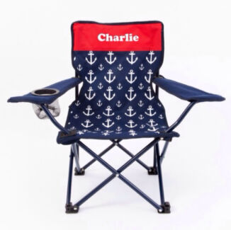 Personalised kids camp chairs Port Pirie Port Pirie City Preview