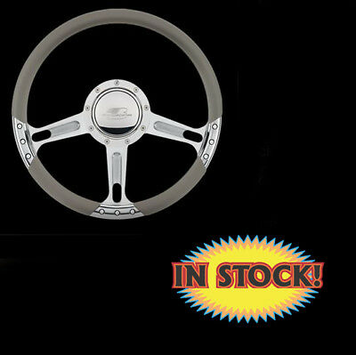 Billet Specialties 29244 - Boost Select Edition Steering Wheel - Polished 14