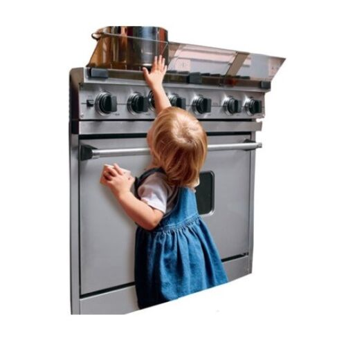 """Prince Lionheart Stove Guard Adjustable 24"""" to 36"""" Open Package Special"""