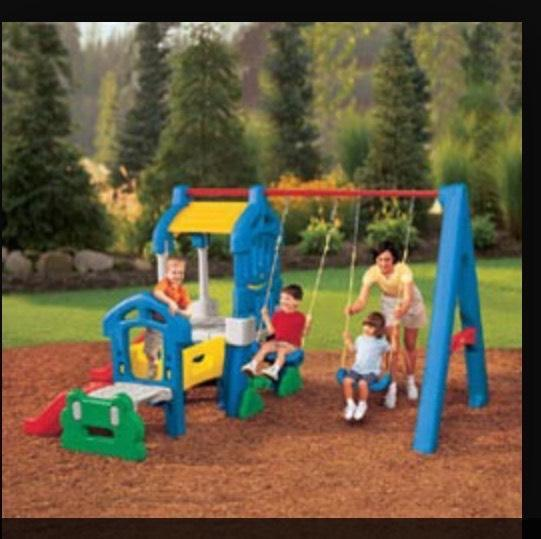 Little tikes climb and swing set in farnham surrey for Little tikes outdoor playset
