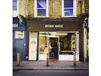BROTHER MARCUS -- Talented Barista to start Immediately, Clapham Junction, London!