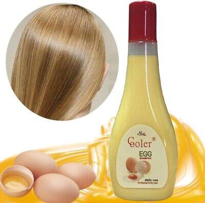 278ML COOLER Egg Natural Shampoo Enhancing Damage Repairing with Anti-dandruff