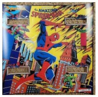 Gottlieb pinball Amazing Spiderman Backglass Translight