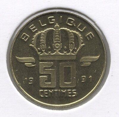 50 cent 1991 frans * F D C *