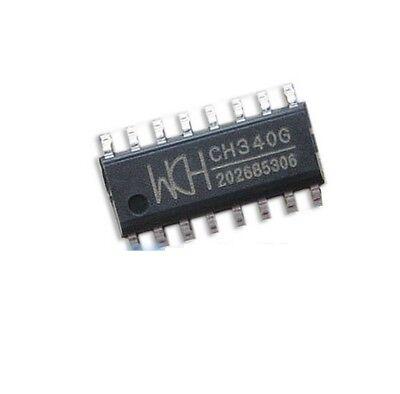 5pcs Original Ch340g Ic R3 Board Free Usb Cable Serial Chip Sop-16