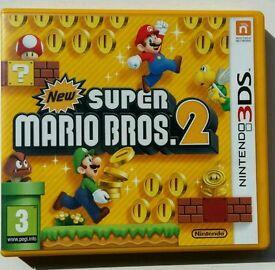Super Mario bros 2 3Ds, second hand.
