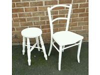 Vintage stool and chair project