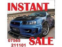 NISSAN SKYLINE GTST GTR R33 R32 R34 URGENTLY REQU1RED CALL NOW!!!