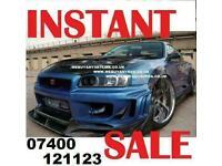 SELL YOUR NISSAN SKYLINE GTR R33 R34 R32 GTST GTT TODAY!!