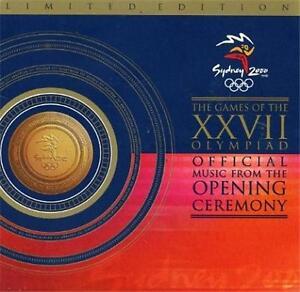 Sydney 2000 OLYMPICS Opening Ceremony Ltd Ed CD Tina Arena John Farnham