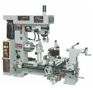 KING INDUSTRIAL 16 X 20 Metal Lathe/Mill Combo.