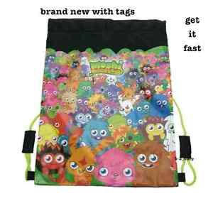 Moshi-Monsters Trainer gym swim PE Sports kit Tidy Drawstring bag new (2003)