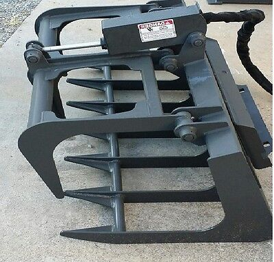 New 44 Root Grapple Mini Walk Behind Skid Steer Loader Toro Dingothomas Ramrod