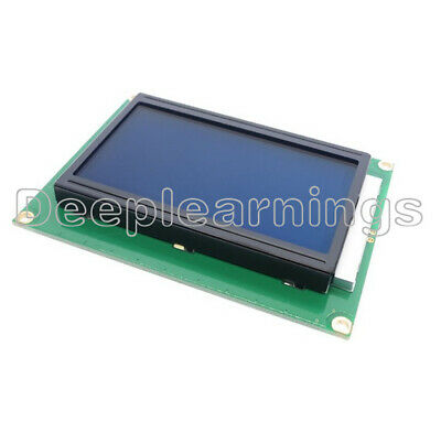 Dc 5v 12864 Lcd Display Module 128x64 Dots Graphic Matrix Blue Lcd Backlight New