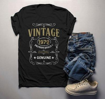 Men's Vintage 1979 40th Birthday T-Shirt Classic Forty Shirt Gift Idea 40th Birt - 40 Birthday Ideas