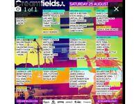 Creamfields standard day tickets X2
