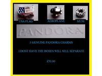 Genuine Pandora Charms