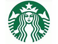 Starbucks Glasgow - Recruitment Shift Supervisors and Baristas