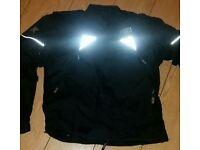 Akito motor bike padded protection bikers jacket XL