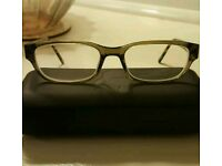Karl Lagerfeld olive green glasses frame