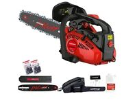 Brand new top handle chainsaw with all the gear