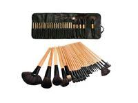 Professional 24pcs MakeUp Brushes & Case