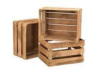 WANTED - Wooden Crates