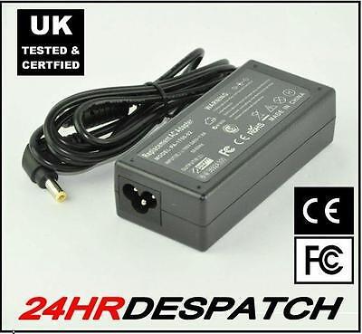 20V 3.25A para Advent DVD7365 K1301P K1501 Cargador Ordenador Portátil PSU