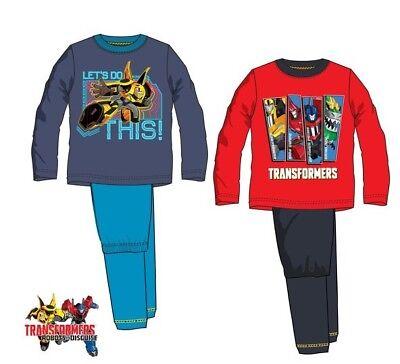 Transformers Schlafanzug 98 110 116 122 128 Junge Pyjama Kinder Optimus Prime  ()