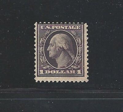 U.S. SC.#342-1908 $1.00 WASHINGTON PERF. 12 DL WMKD.-MINT-CAT.$450.00