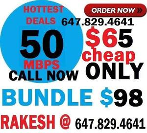 Unlimited Internet, Internet Deal, Internet and Cable, Hd Cable Tv, Homephone, Internet Bundle Deal! Special Sale Cheap