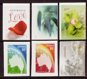 AUSTRALIA 2013 GREETINGS self adhesive SET OF 6 UNMOUNTED MINT, MNH