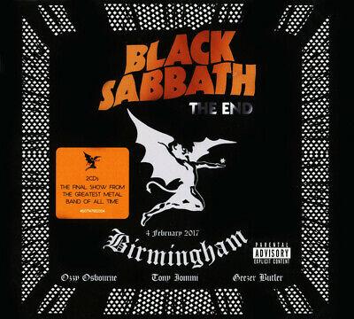 2CD  BLACK SABBATH - The End (4 February 2017 - Birmingham) 2 CD set