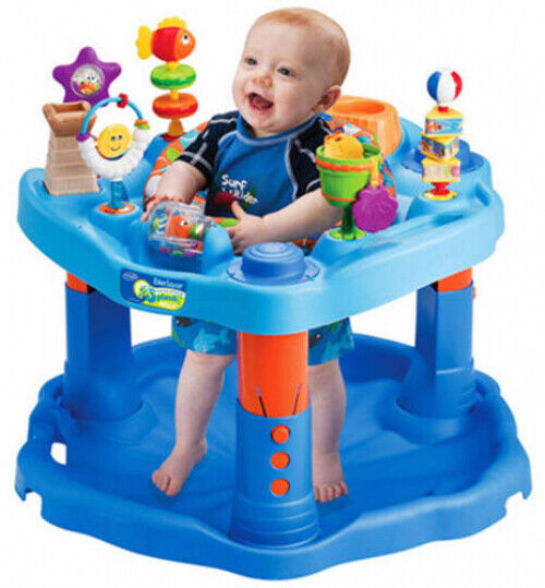 Evenflo ExerSaucer Baby Gear Baby Activity Center Toy Fun Learn Mega Splash