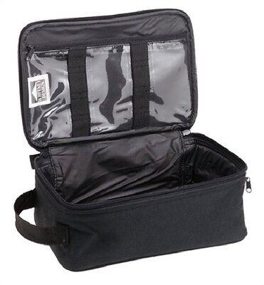 Black Men Travel Bag Shave Toiletry Case Overnight Organizer Kit Gear Dopp Groom
