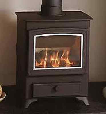 (Fire bricks Aarrow Becton Bunny 5 Lining Replacement  Set woodburner stove )