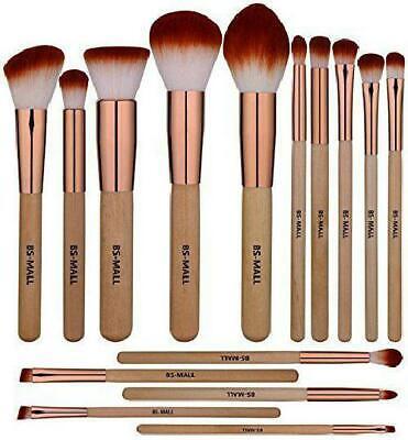15 pc,Morphe Professional Cosmetic Makeup Brush Set Eyeshadow Foundation Brushe